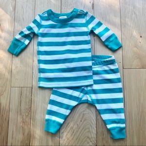 Baby Organic Long John Pajamas